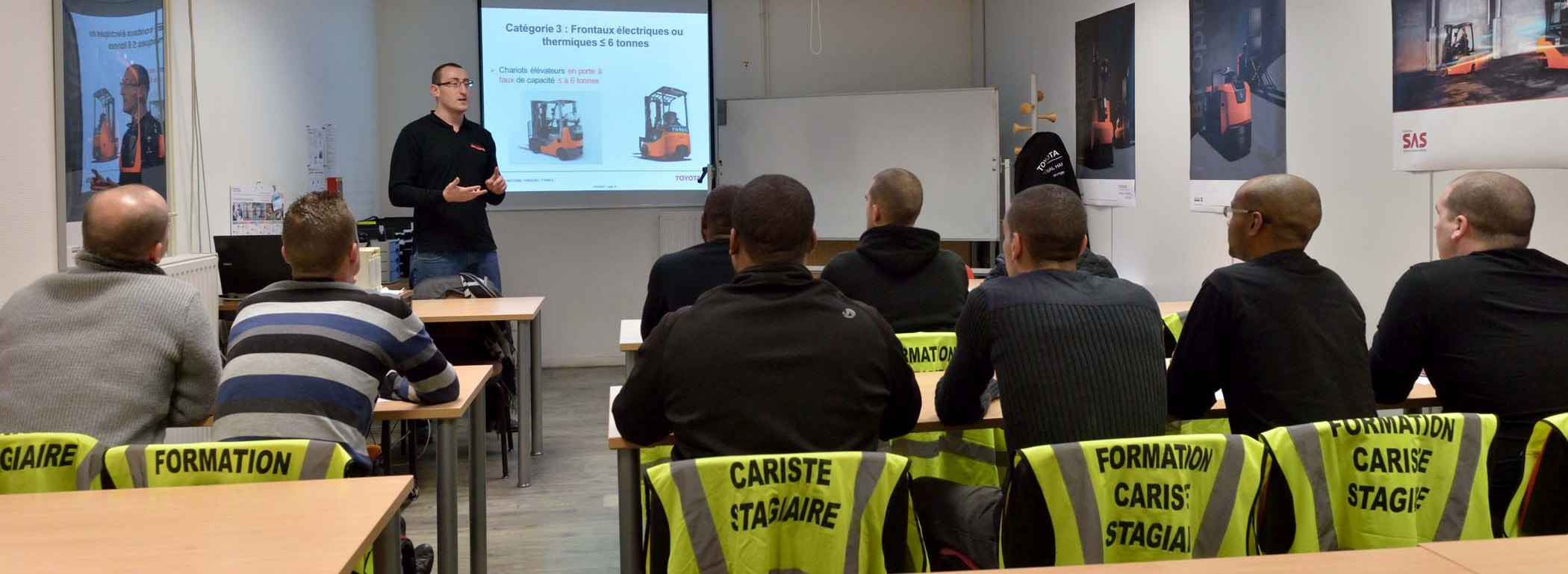 Formation Initiale Cariste (FIC)