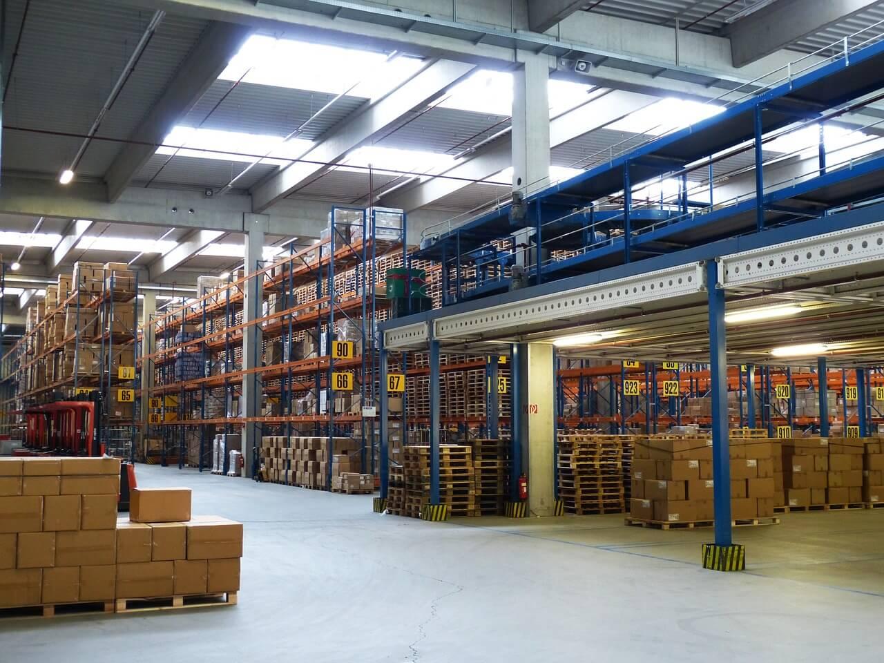Notion sur la logistique d'entrepôt